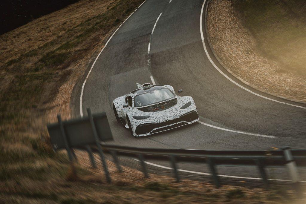 Mercedes AMG Project One Spyshot 2