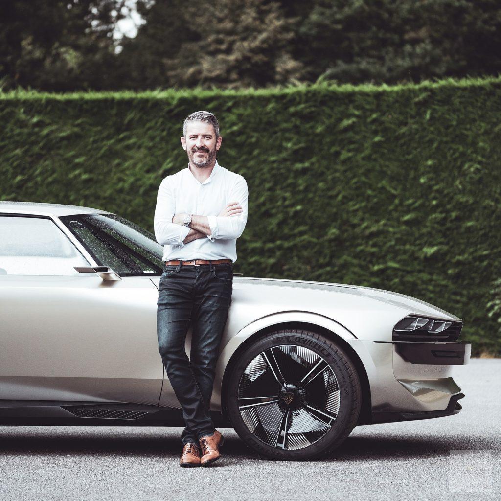 Peugeot P18 Paris Motor Show 2018 E Legend Concept Car Gilles Vidal