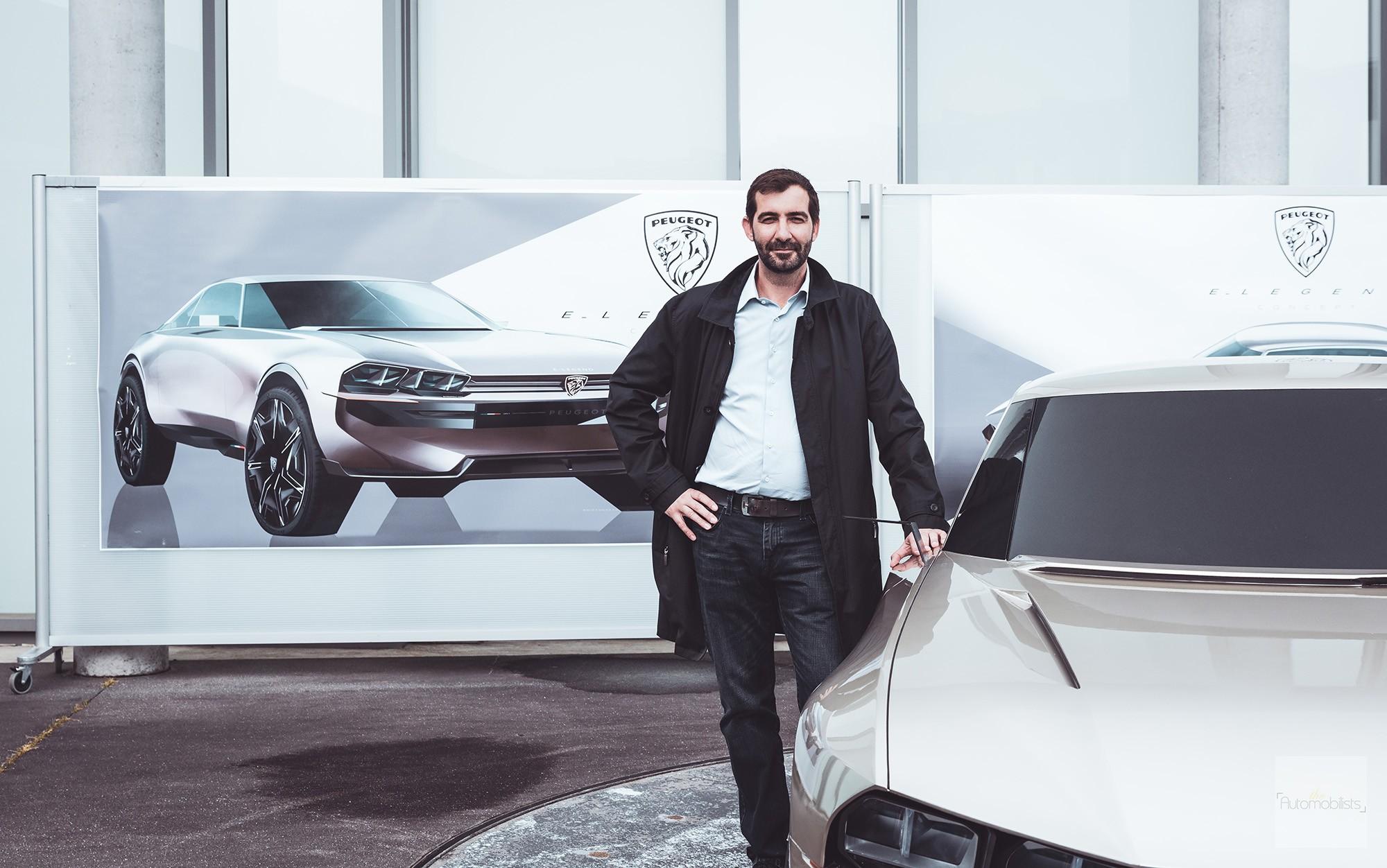 Peugeot P18 Paris Motor Show 2018 E Legend Concept Car Reponsable projet