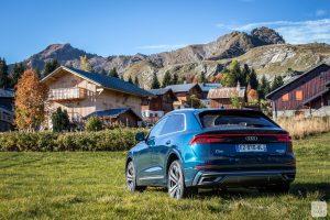 Essai Audi Q8 365