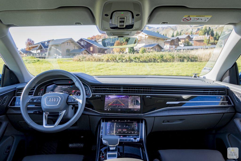 Essai Audi Q8 60
