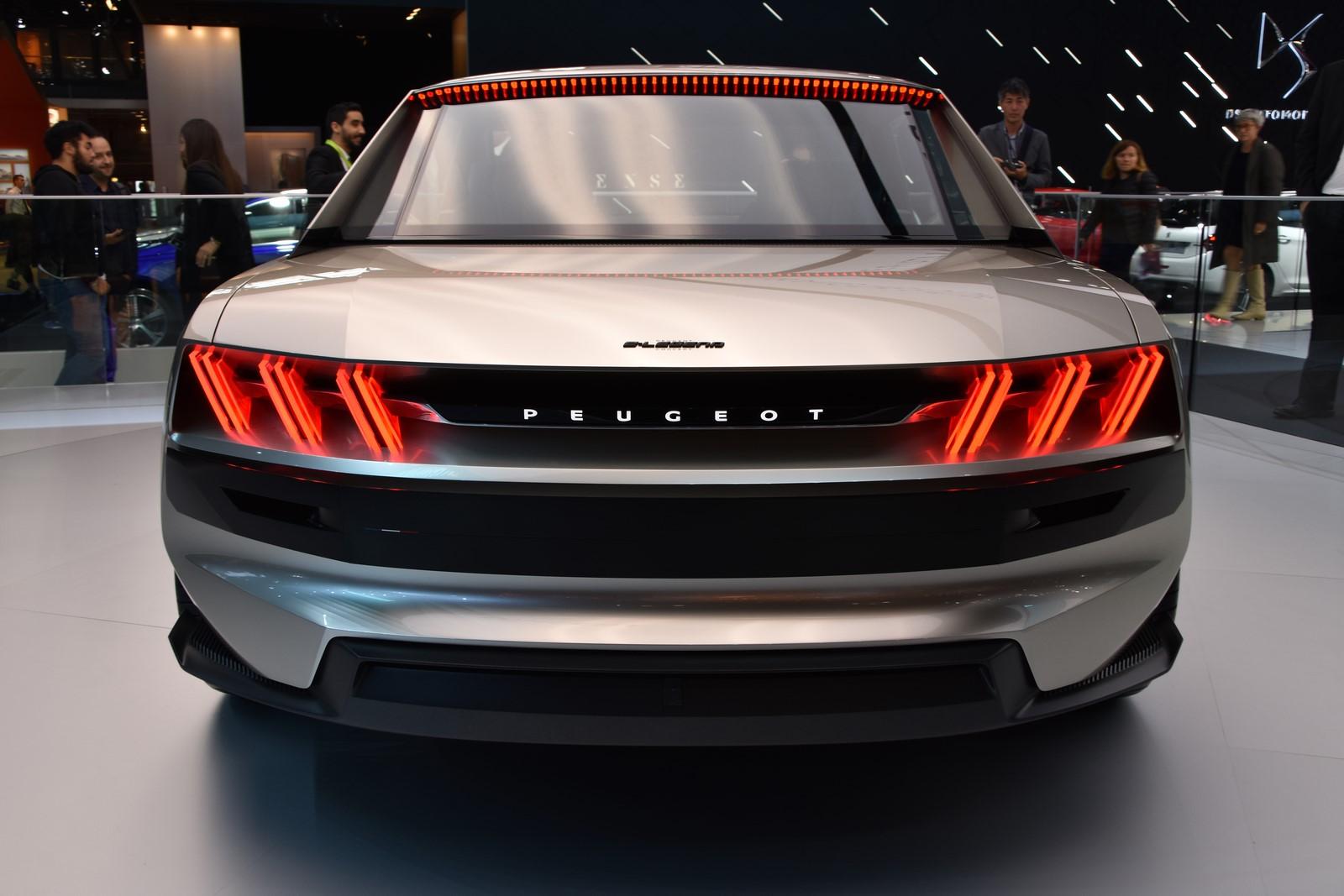 Mondial Paris 2018 Peugeot e legend Concept 24