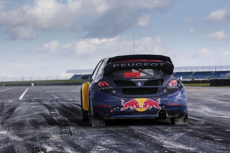 Peugeot 208 wrx retrait rallyecross