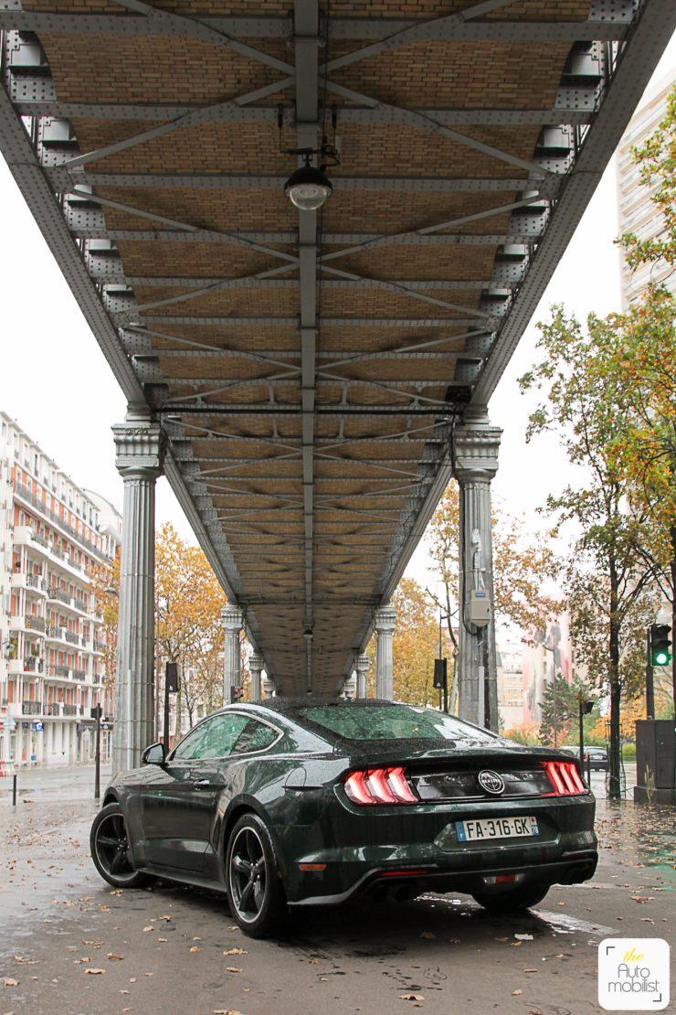 Essai Ford Mustang Bullitt 2018