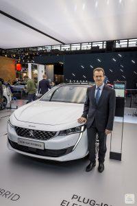 Mondial de Paris 2018 Peugeot itw Olivier Salvat