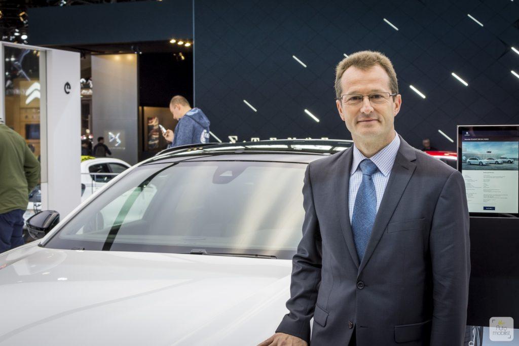 Mondial de Paris 2018 Peugeot itw Olivier Salvat 1