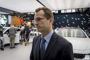 Mondial de Paris 2018 Peugeot itw Olivier Salvat 5