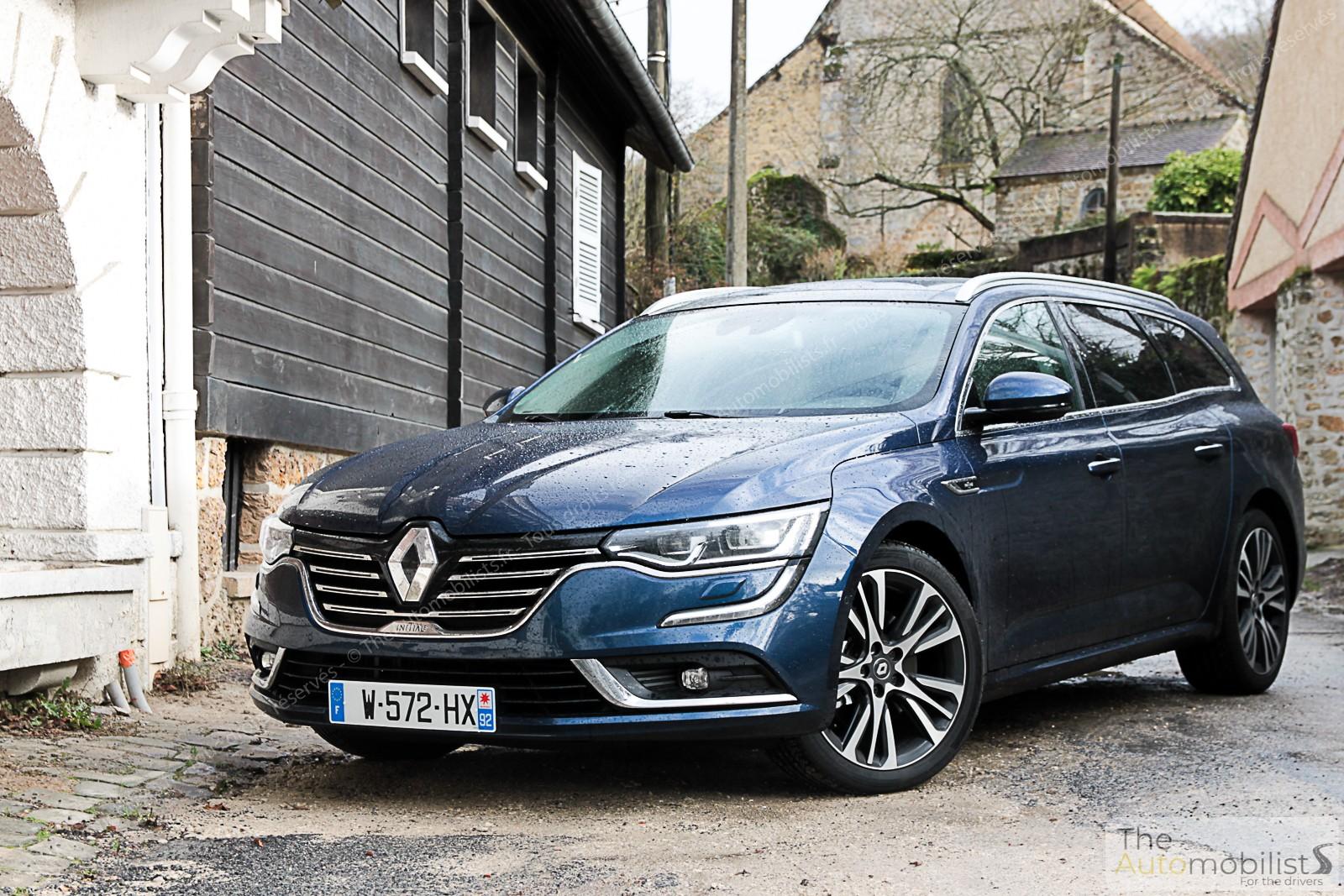 Essai Renault Talisman Estate TCe 225 ch : l'inconnue de ...
