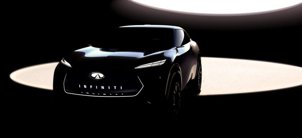 Infiniti SUV Electrique Detroit 2019