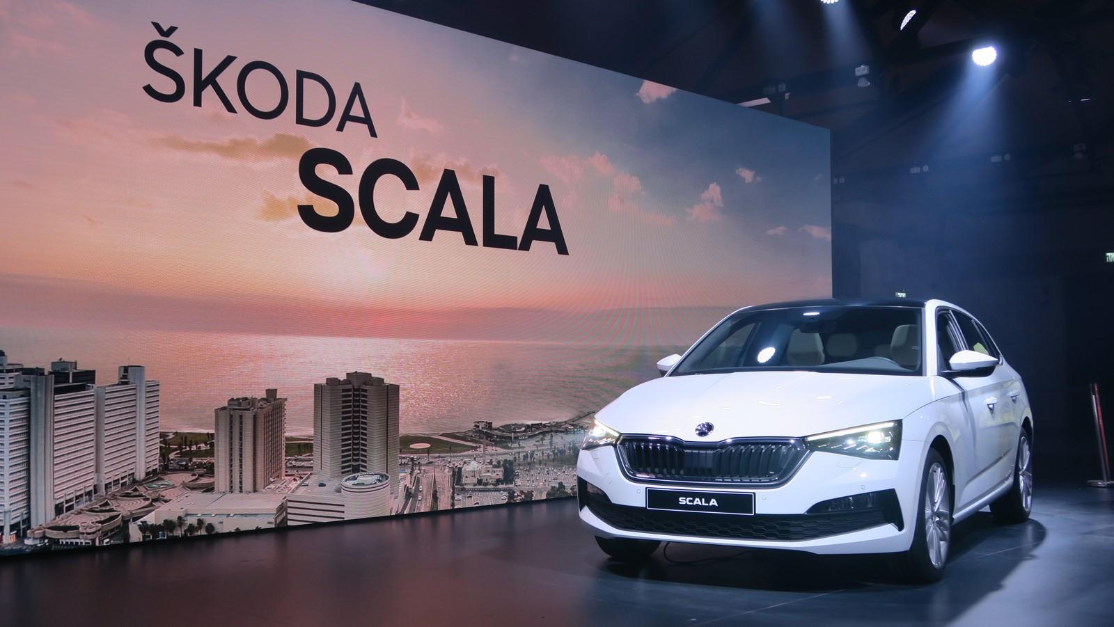 Skoda Scala 2019 TA 2018 FM 100