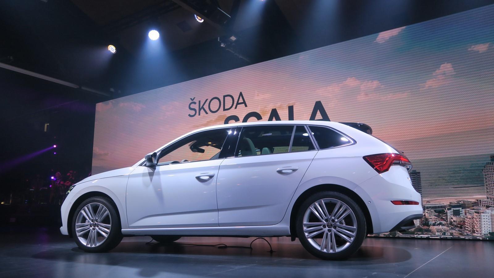 Skoda Scala 2019 TA 2018 FM 104