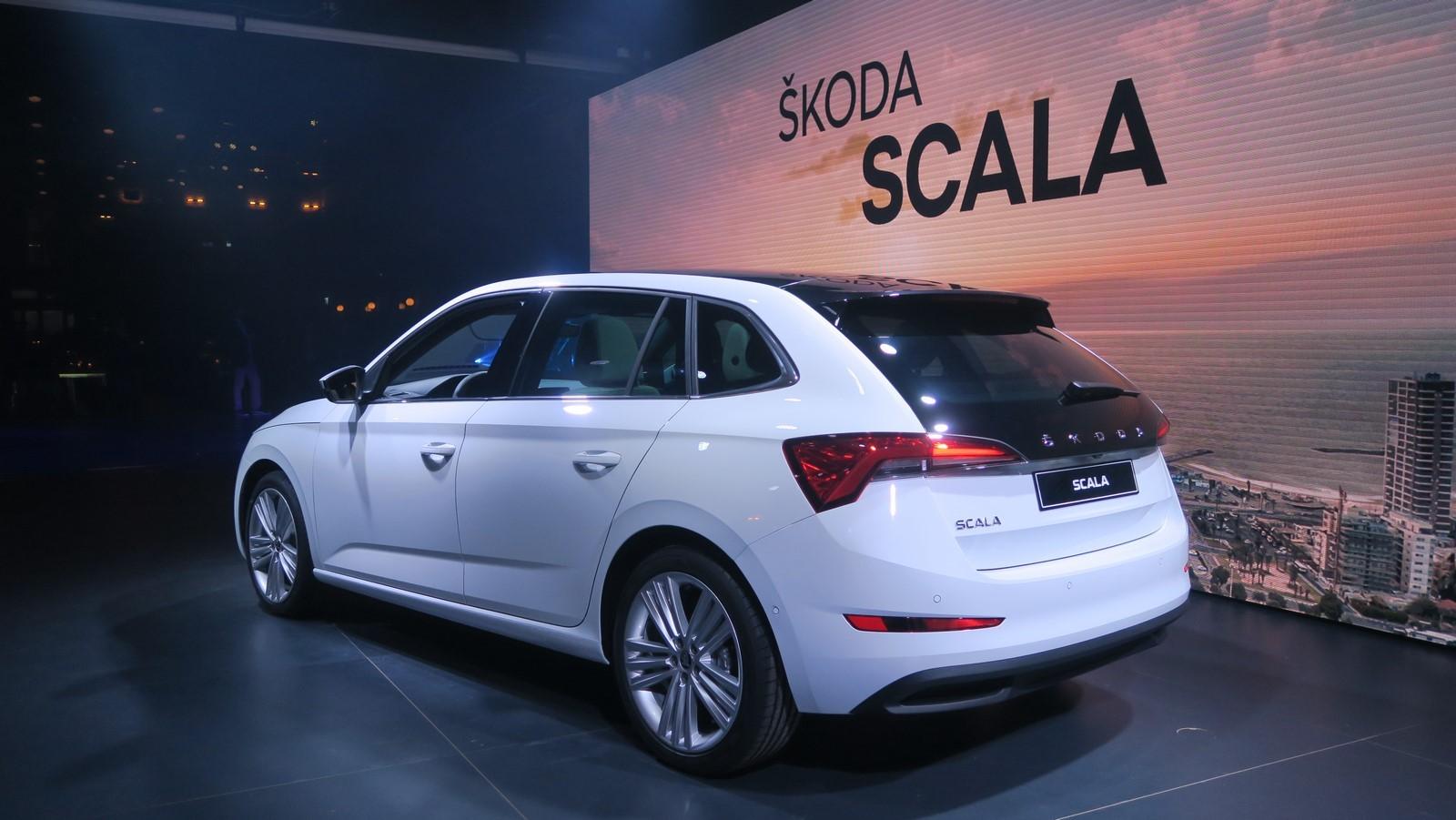 Skoda Scala 2019 TA 2018 FM 113