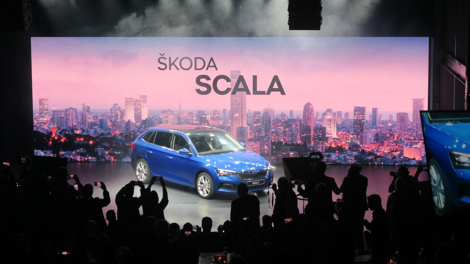 Skoda Scala 2019 TA 2018 FM 4