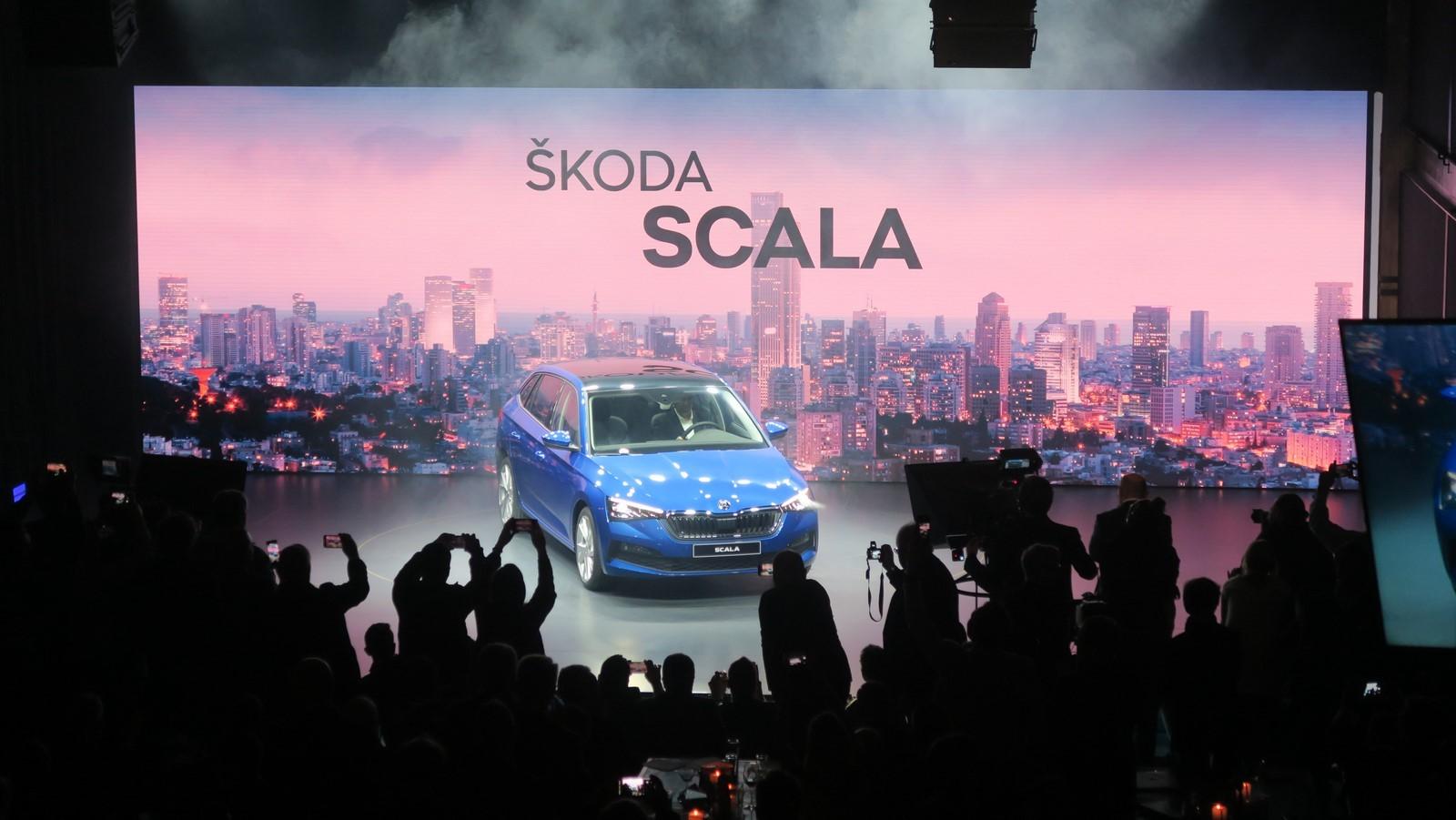 Skoda Scala 2019 TA 2018 FM 5