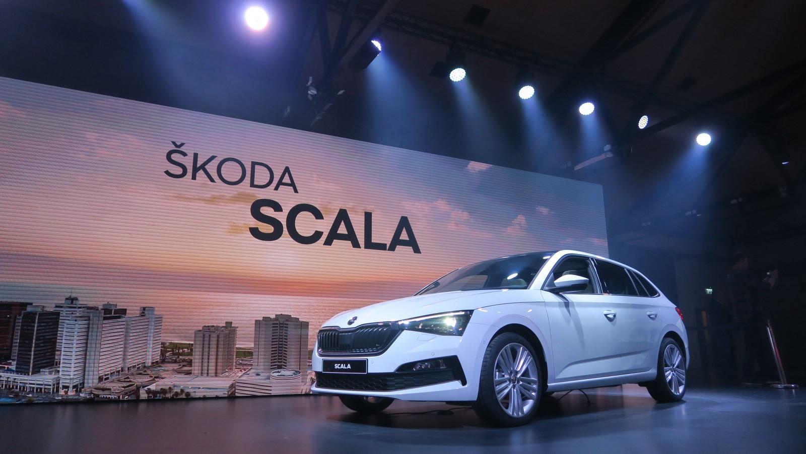 Skoda Scala 2019 TA 2018 FM 92