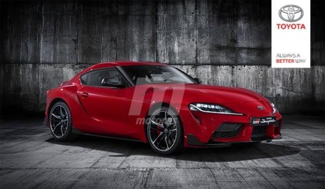 Toyota Supra 2019 A90 mk5