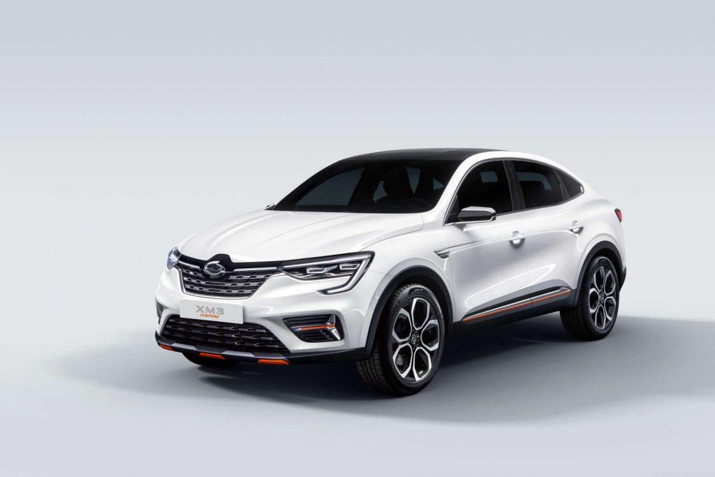 2019 Show car XM3 INSPIRE 3 1