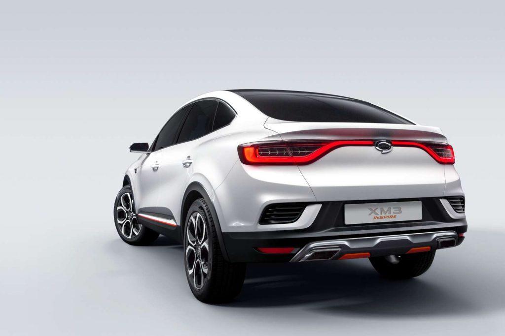 2019 Show car XM3 INSPIRE 5 1
