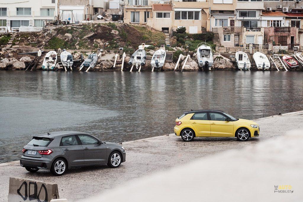 Essai Audi A1 30 TFSI S Line coloris 1