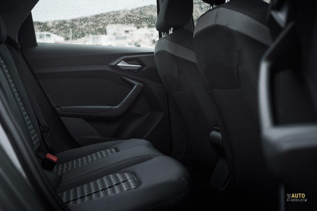Essai Audi A1 30 TFSI S Line places arrieres