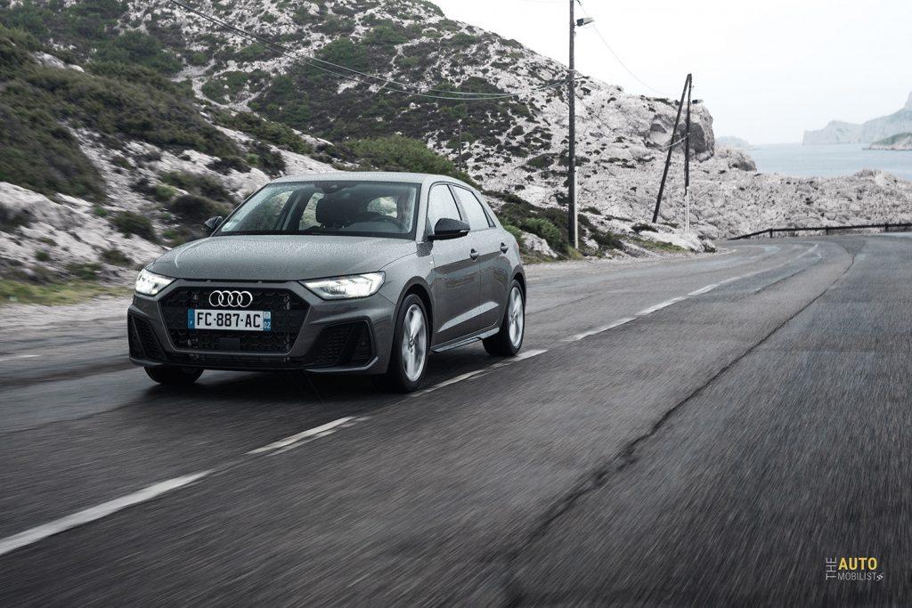 Essai Audi A1 30 TFSI S Line sur la route