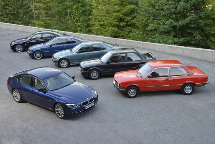 BMW Série 3 générations