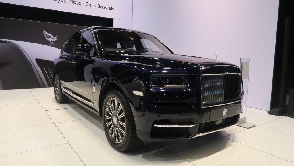 Rolls Royce Cullinan Auto Salon Brussels 2019 TA FM