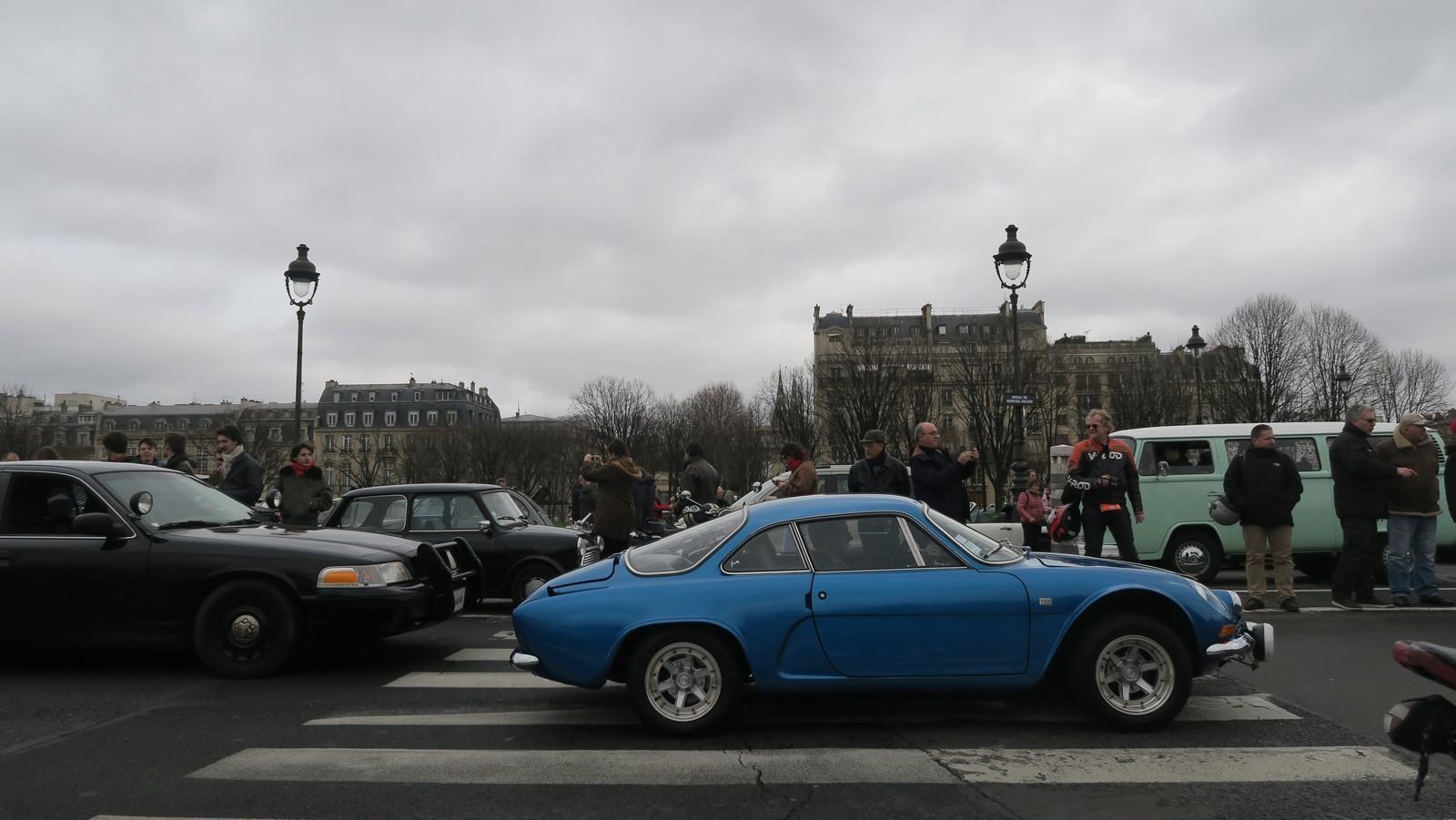 Traversee de Paris hivernale 2019 FM 100