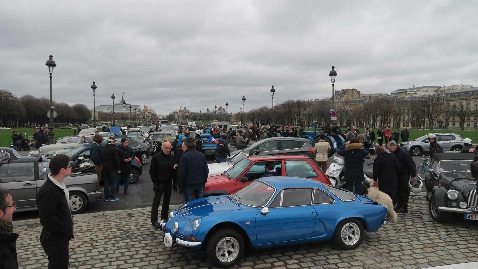 Traversee de Paris hivernale 2019 FM 115