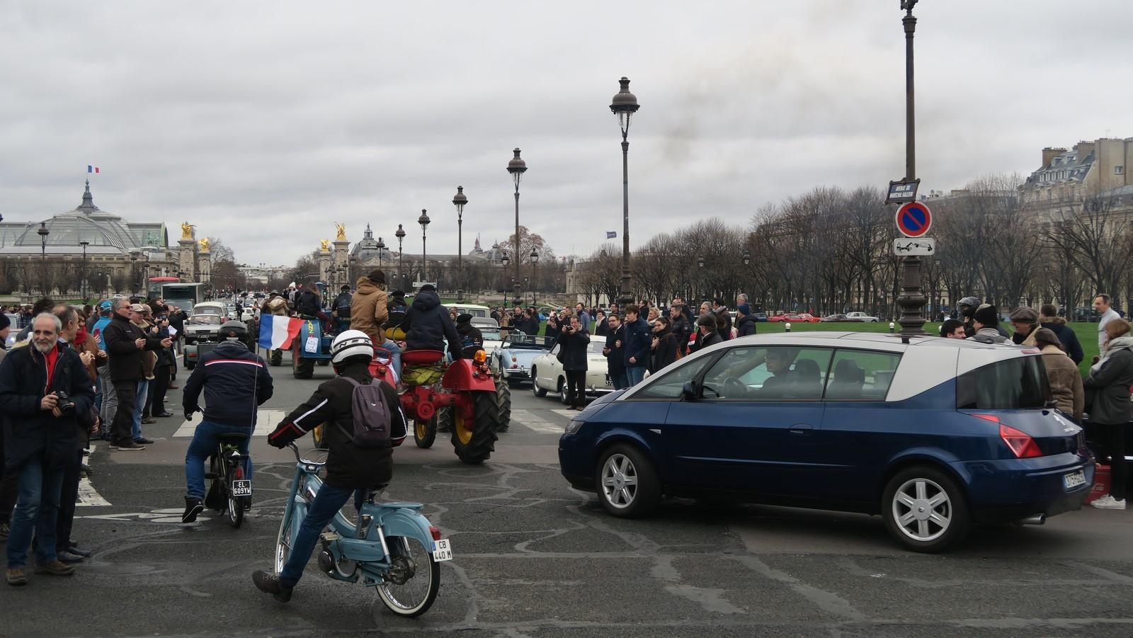 Traversee de Paris hivernale 2019 FM 117