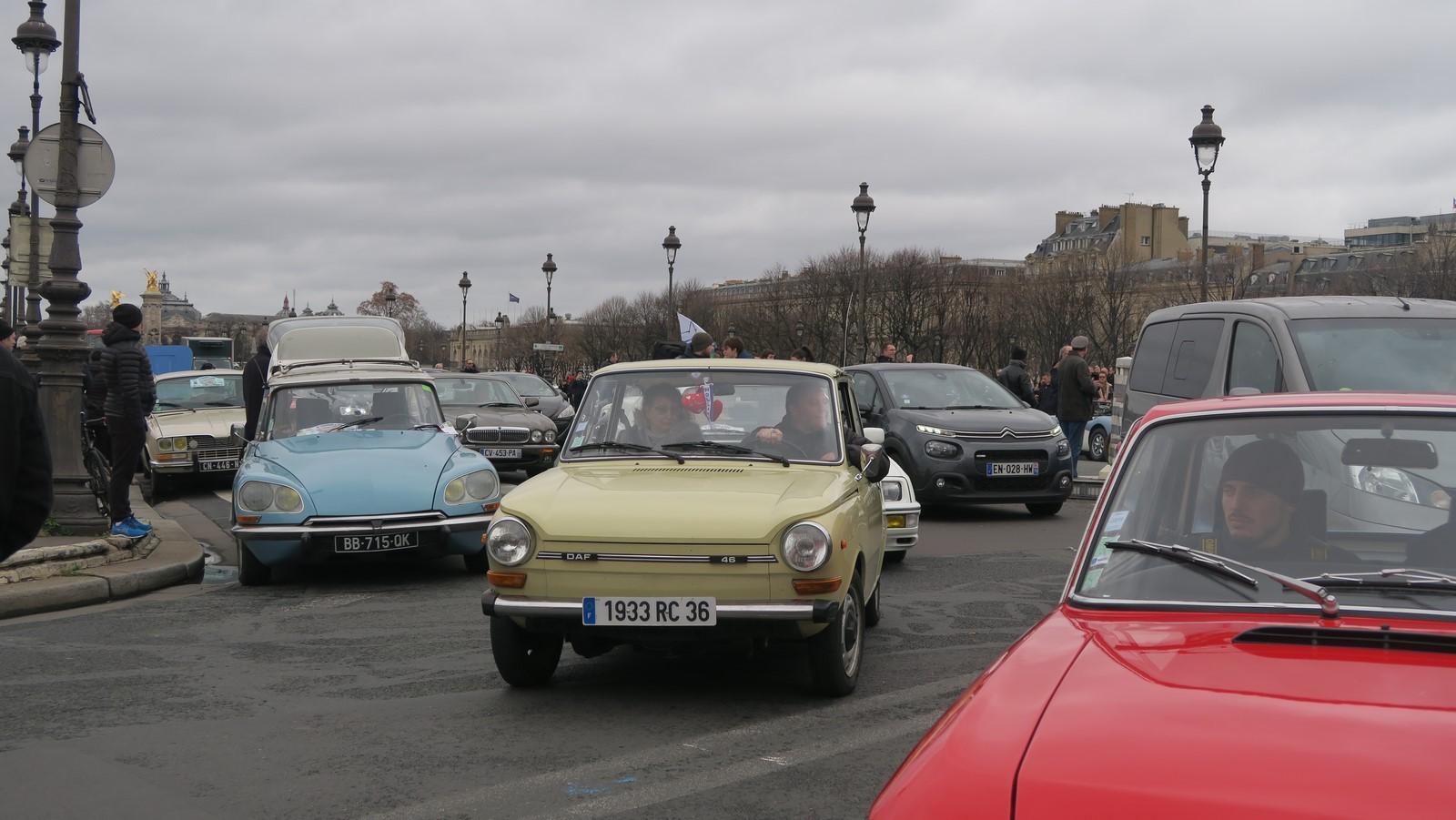 Traversee de Paris hivernale 2019 FM 118