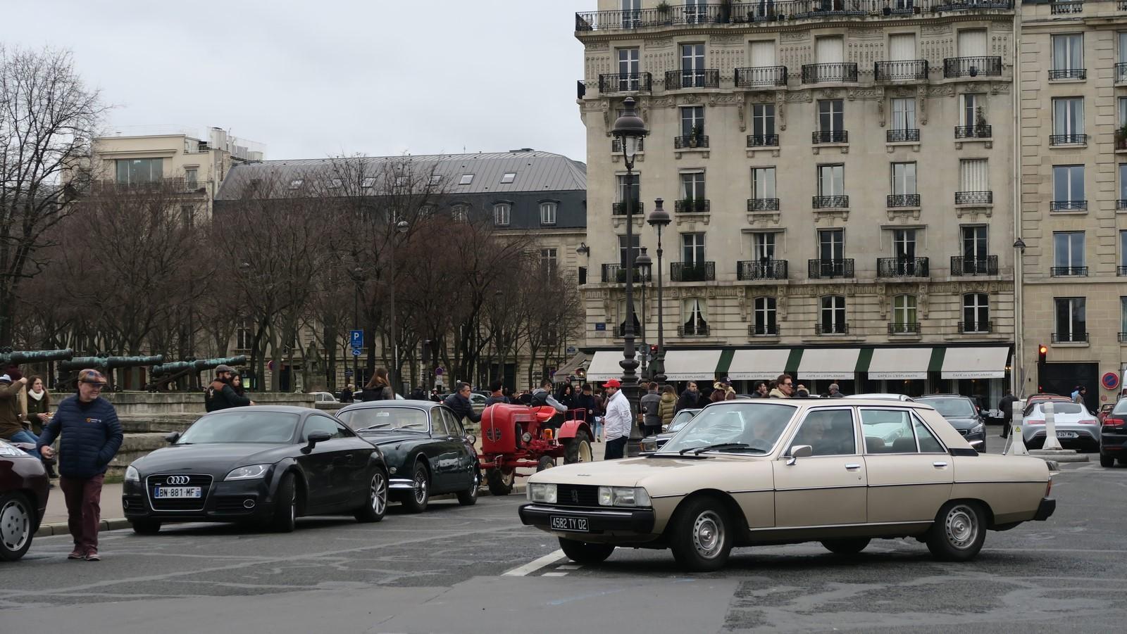 Traversee de Paris hivernale 2019 FM 125