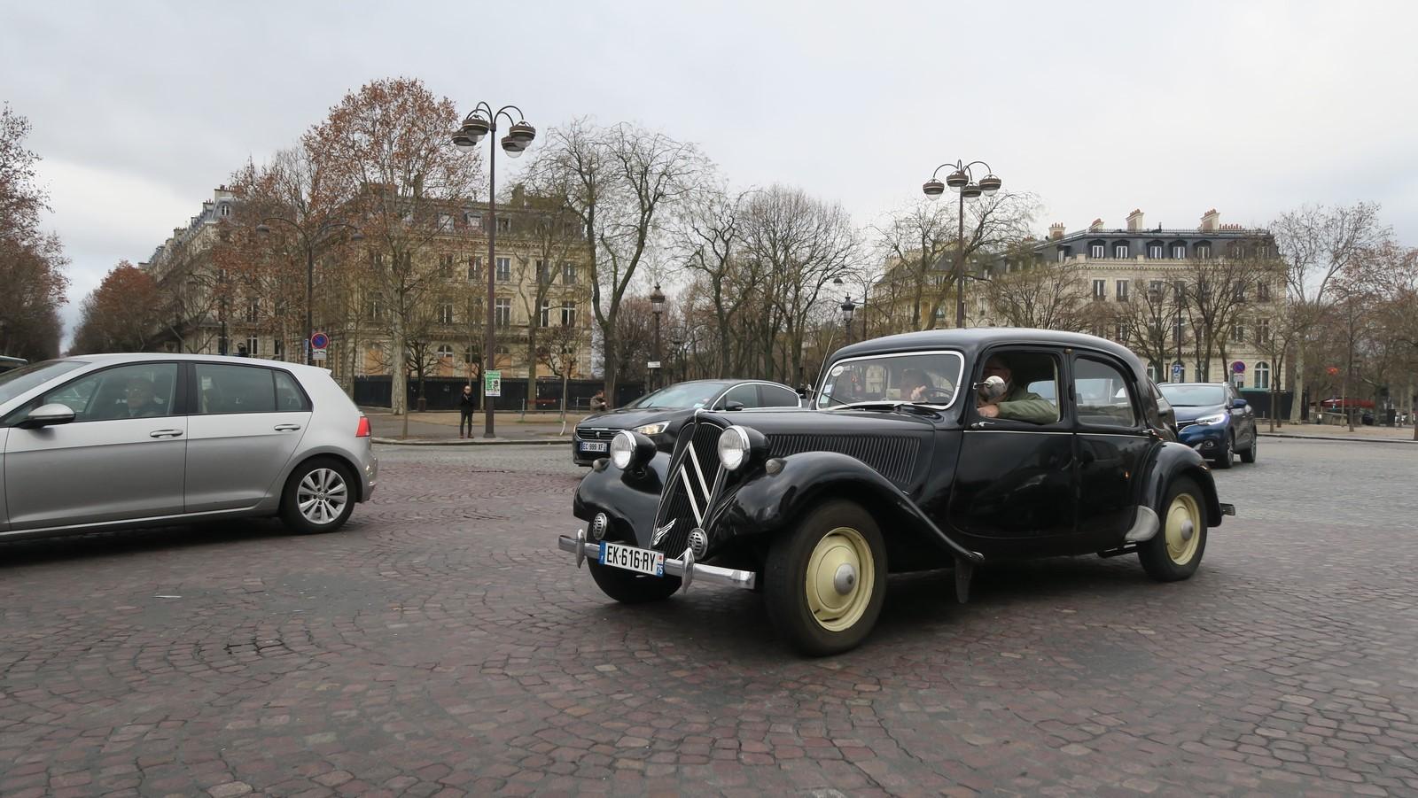 Traversee de Paris hivernale 2019 FM 65