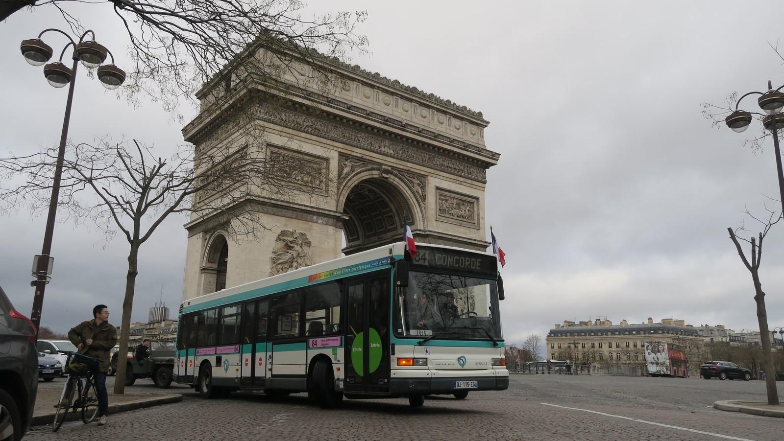 Traversee de Paris hivernale 2019 FM 75