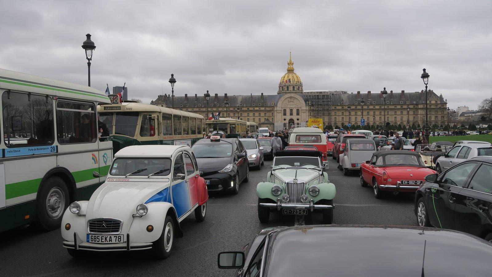 Traversee de Paris hivernale 2019 FM 84