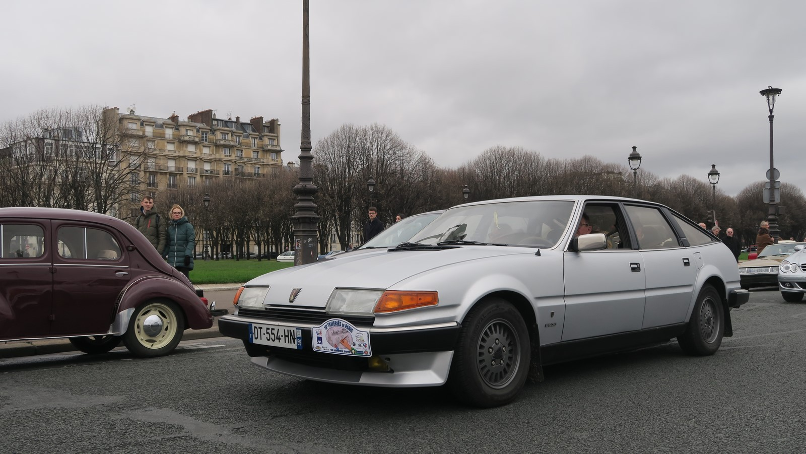 Traversee de Paris hivernale 2019 FM 88