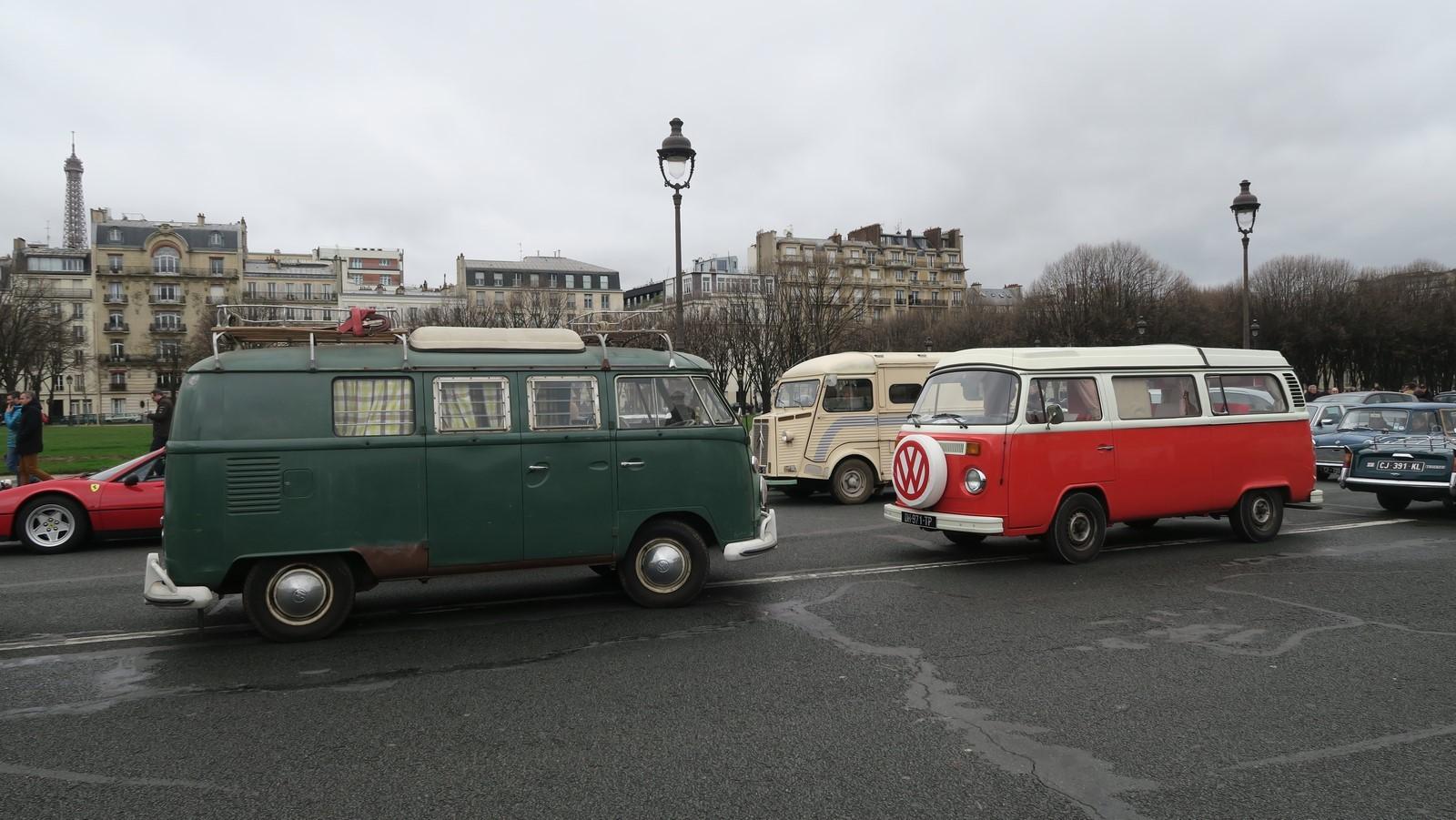 Traversee de Paris hivernale 2019 FM 91