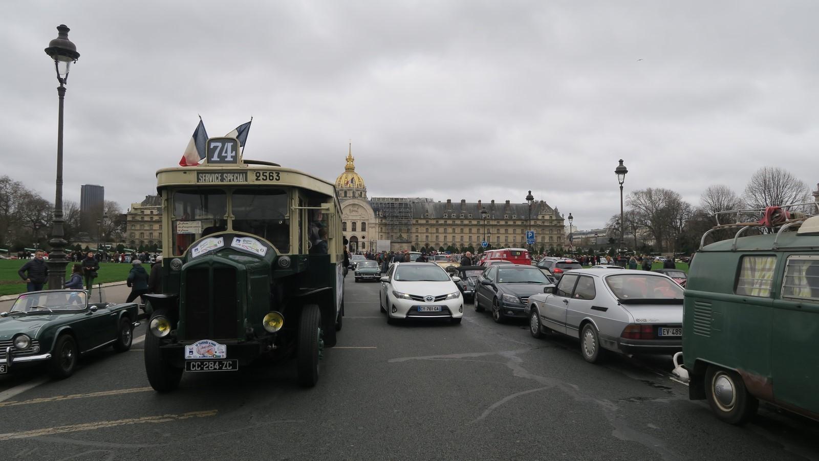 Traversee de Paris hivernale 2019 FM 92