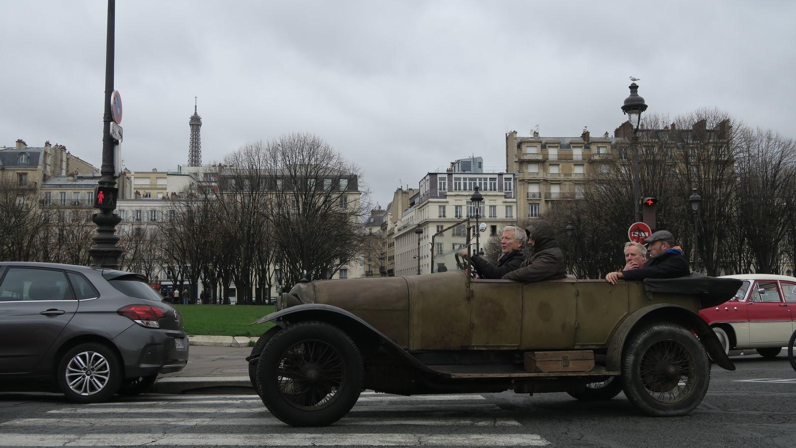 Traversee de Paris hivernale 2019 FM 94