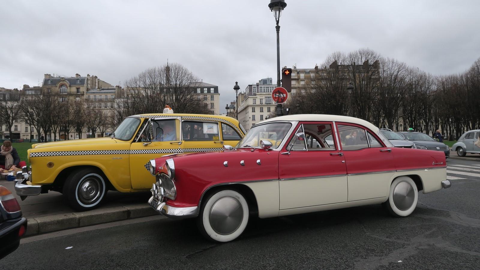 Traversee de Paris hivernale 2019 FM 98