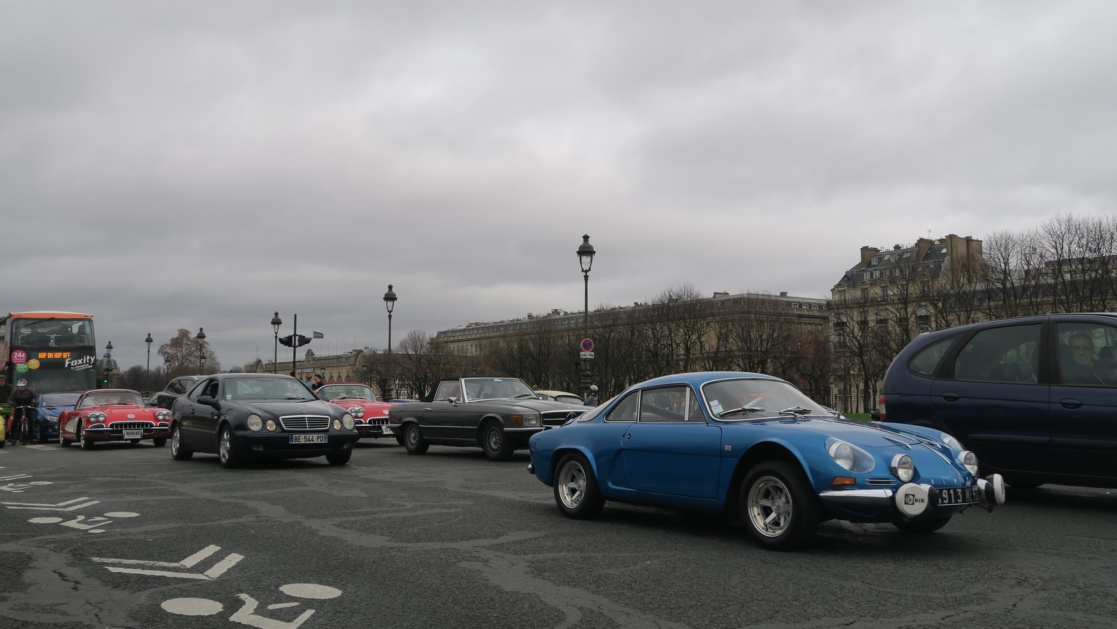 Traversee de Paris hivernale 2019 FM 99