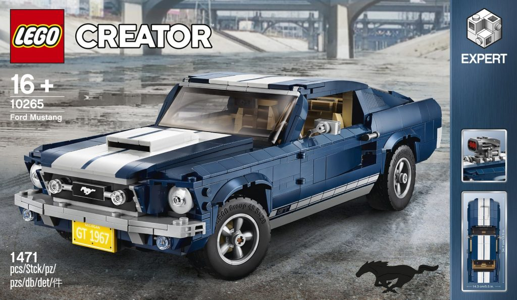 2019 Lego Ford Mustang 1967 01