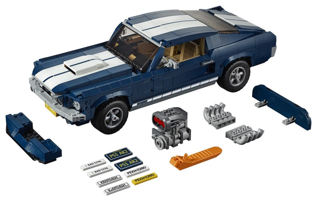 2019 Lego Ford Mustang 1967 02
