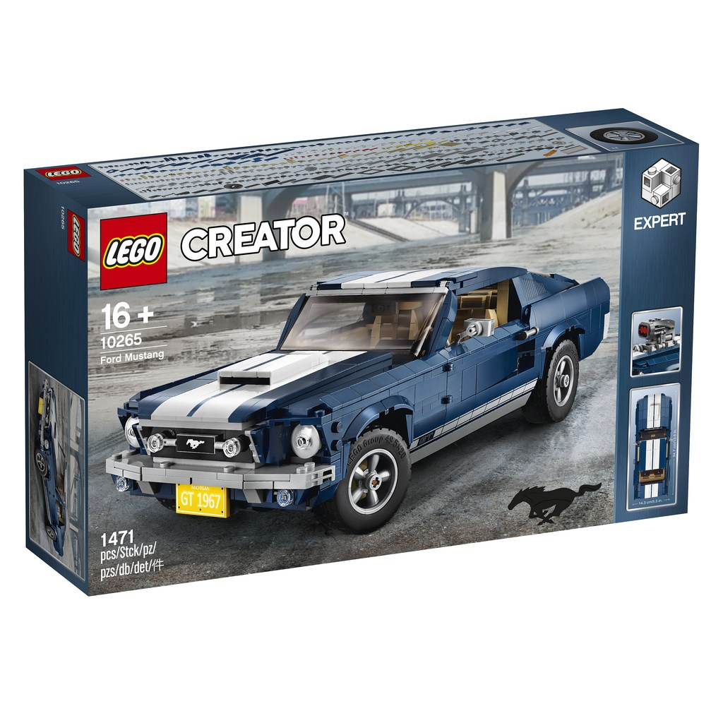 2019 Lego Ford Mustang 1967 04