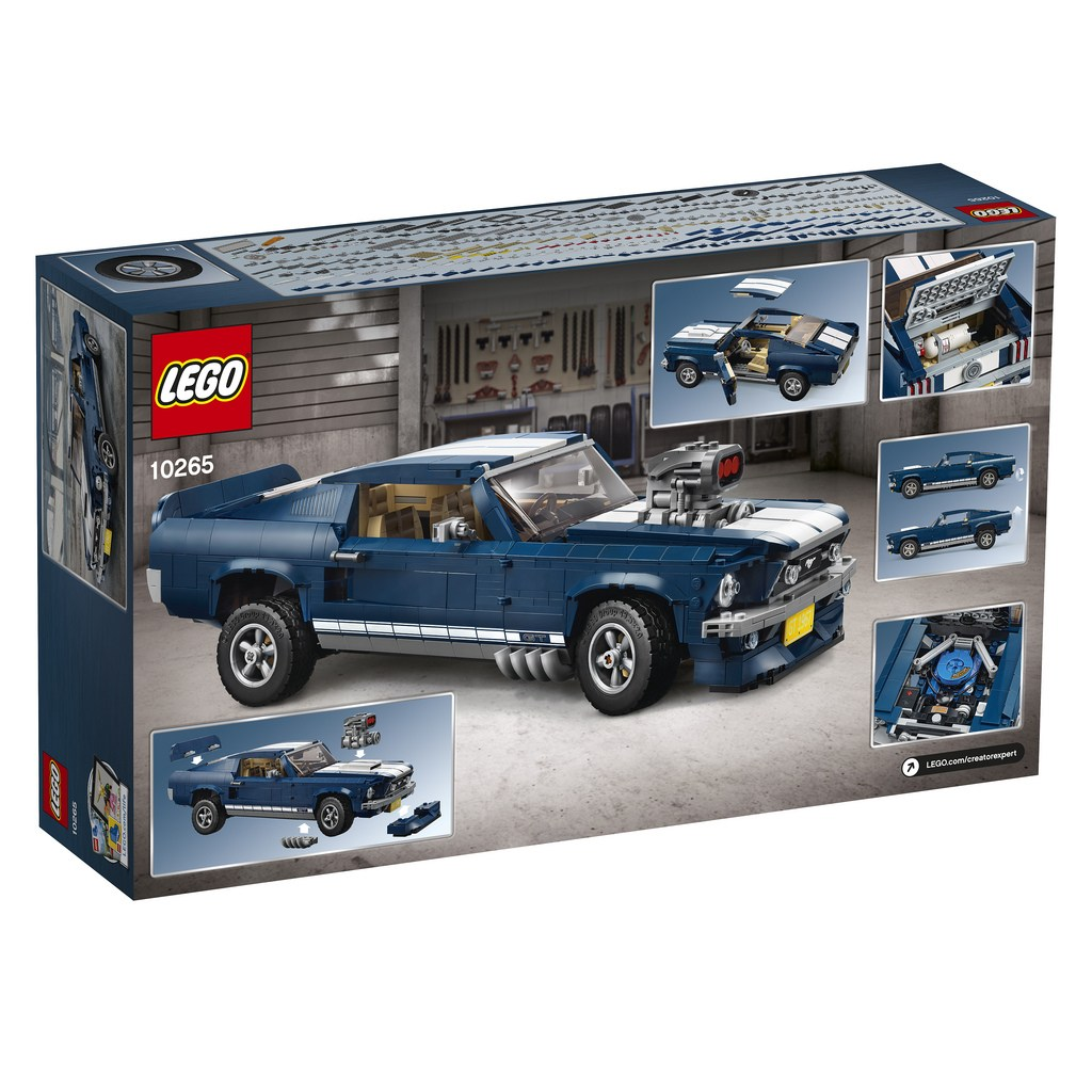 2019 Lego Ford Mustang 1967 05