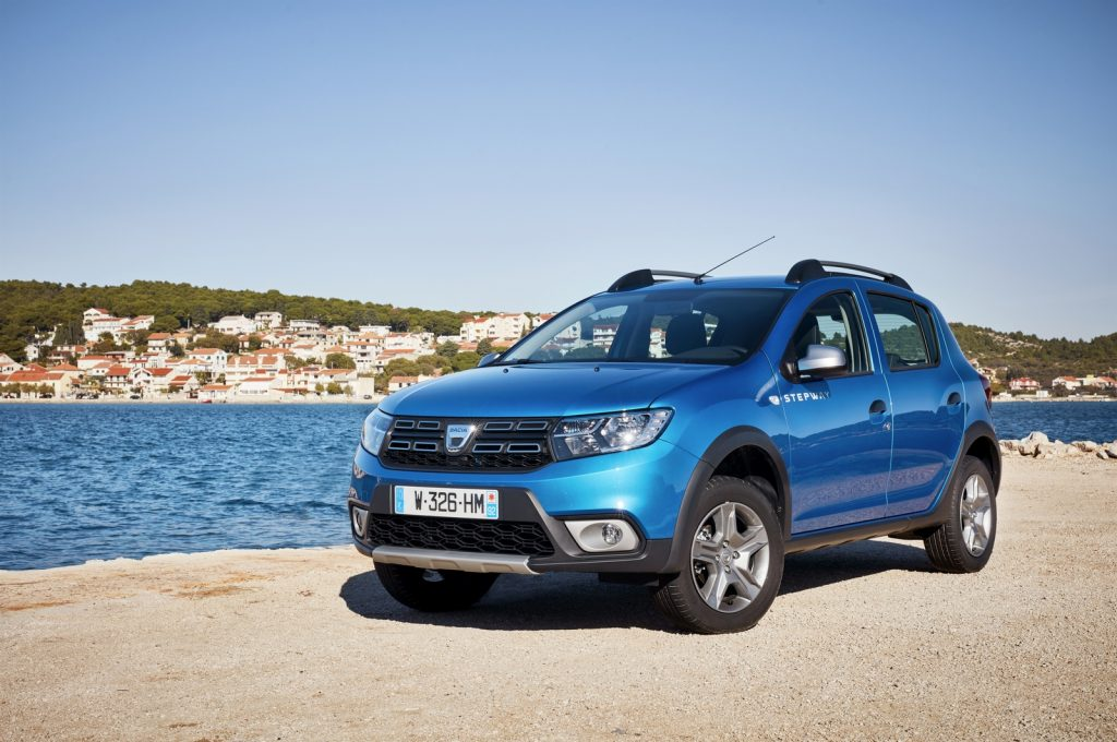 84539 2016 Essais Presse Nouvelle Dacia SANDERO STEPWAY en Croatie