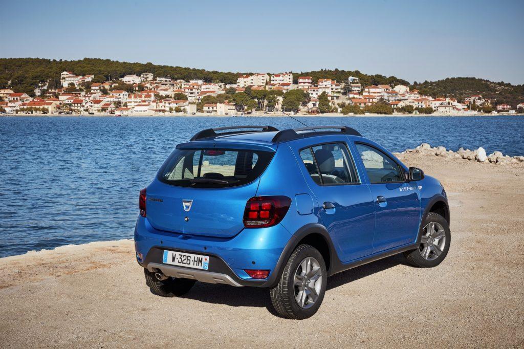 84542 2016 Essais Presse Nouvelle Dacia SANDERO STEPWAY en Croatie