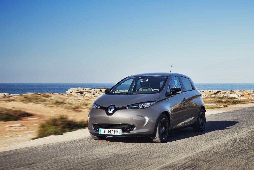 84952 2016 Essais presse Nouvelle Renault ZOE Z E 40 au Portugal