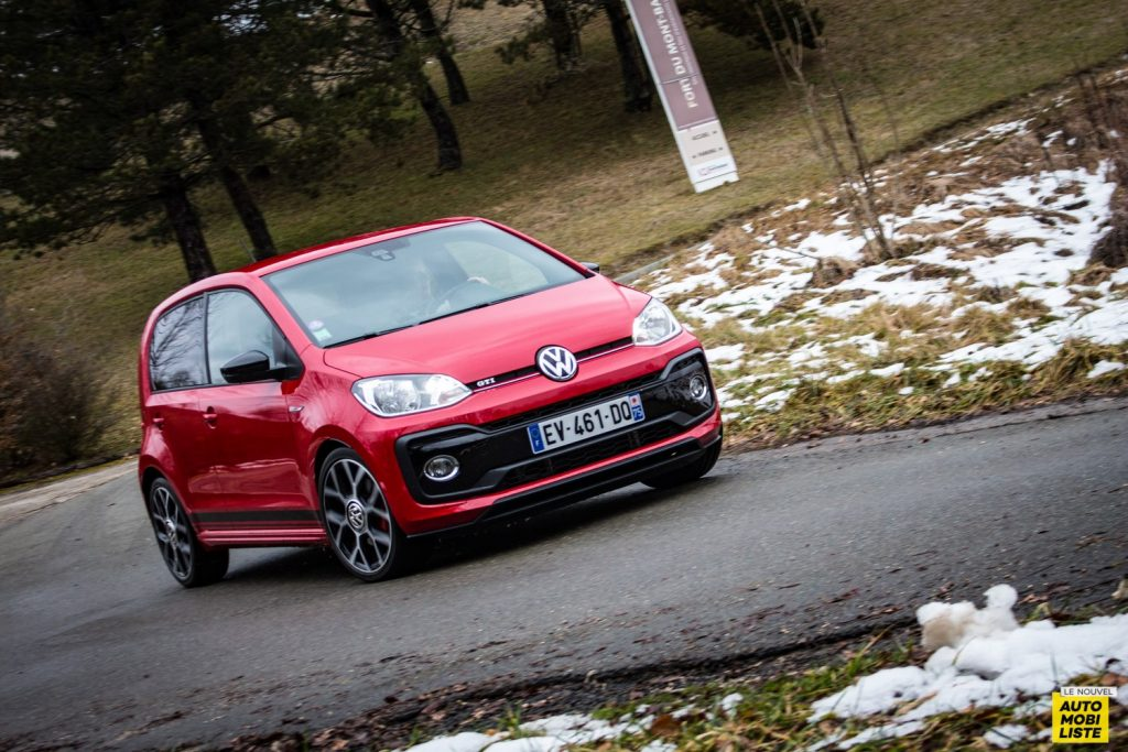 Comparatif GTI Up golf 1