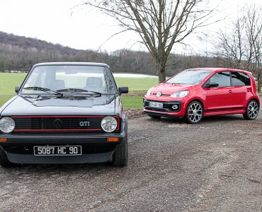 Comparatif GTI Up vs Golf